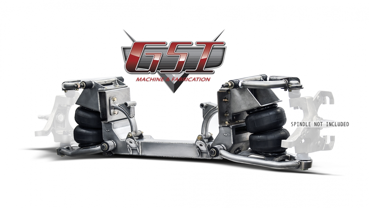 63 72 c10 front suspension kit by gsi machine fabrication c10 truck front suspension kit at