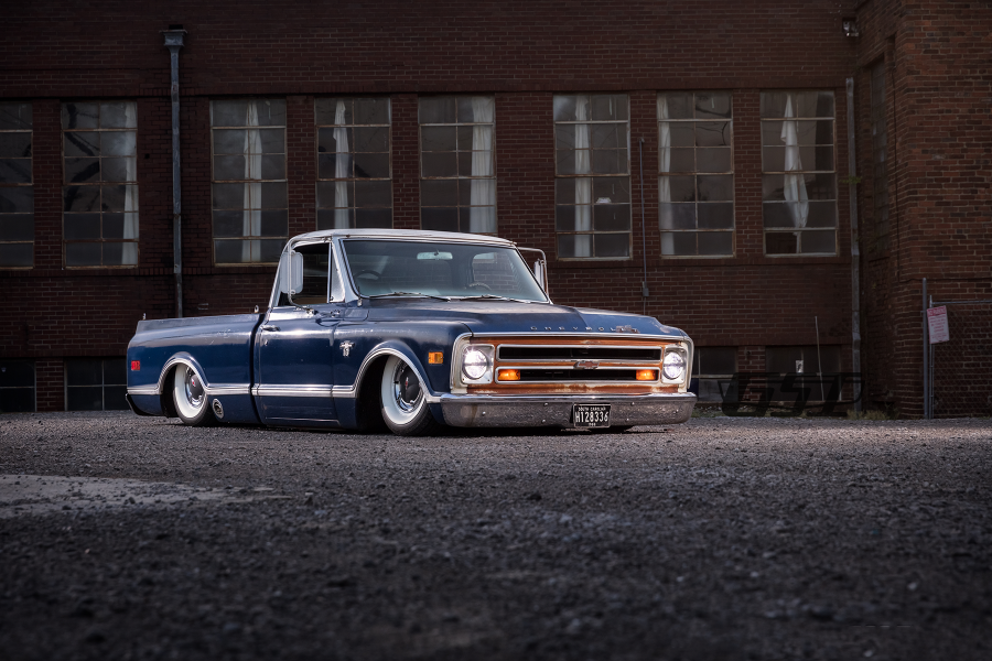 '68 C10 Chevy Owned By: Clay Herron