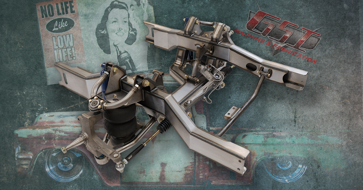 Best Quality Amp Price 55 59 Chevy Air Ride Suspension Kit