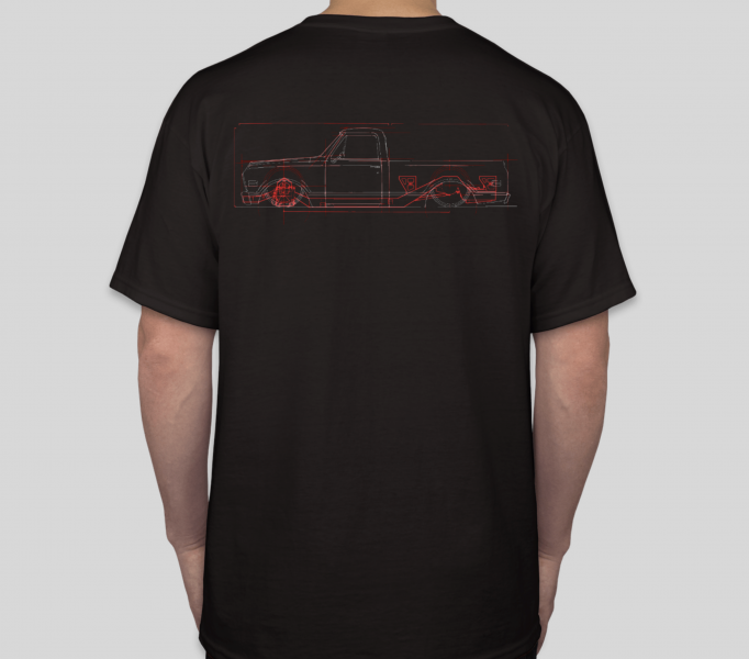 6768 CAD Chassis Shirt