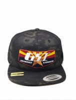 GSI Black Multicam Snapback Hat