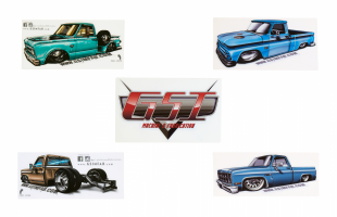 Truck Decal Pack