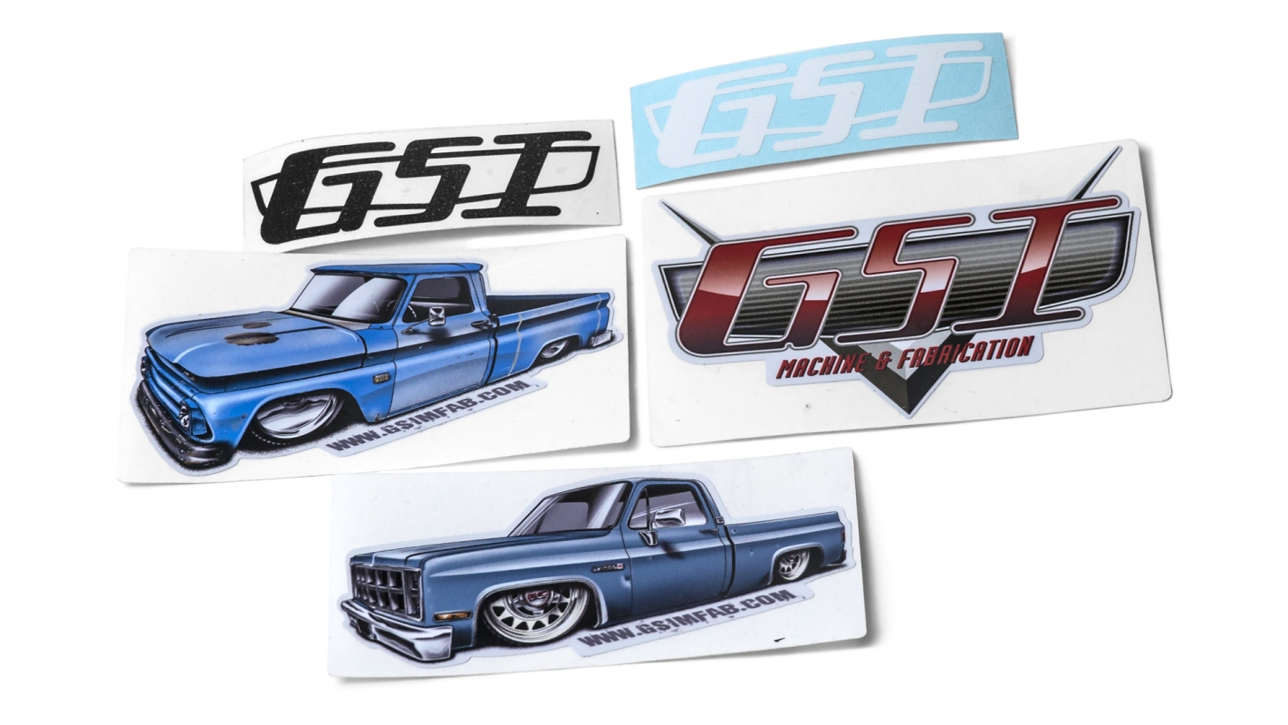 Bagged Truck Decal Pack GSIMFAB Decals C Truck Sticker Decal - Decals for trucks