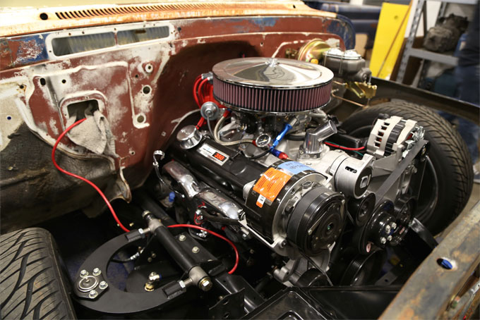 GSI Machine and Fabrications's History - Engine Bay