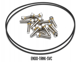 ENDO Tank - 5-gal Bolted Alum Air Tank w/ Raw Finish
