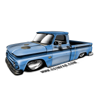 GSI Shop Truck Decal
