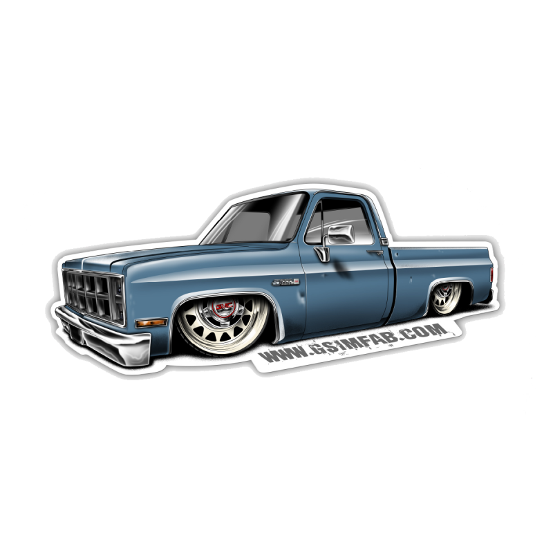 Huckleberry Truck Decal 102 Products Apparel Amp Decals